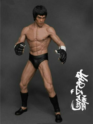 Bruce Lee Action Figure Collector PVC Statue Gift