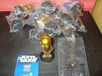 C-3PO Wars Tall Mini Head Action New In Package
