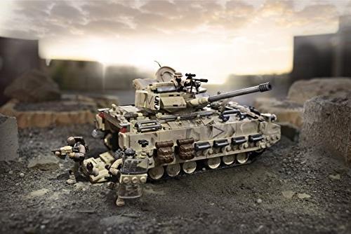 Mega Duty Desert Tank Collector Construction Set