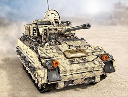 Mega Call Duty Desert Tank Collector Construction