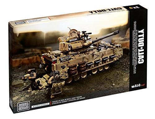 Mega of Duty Desert Tank Construction Set