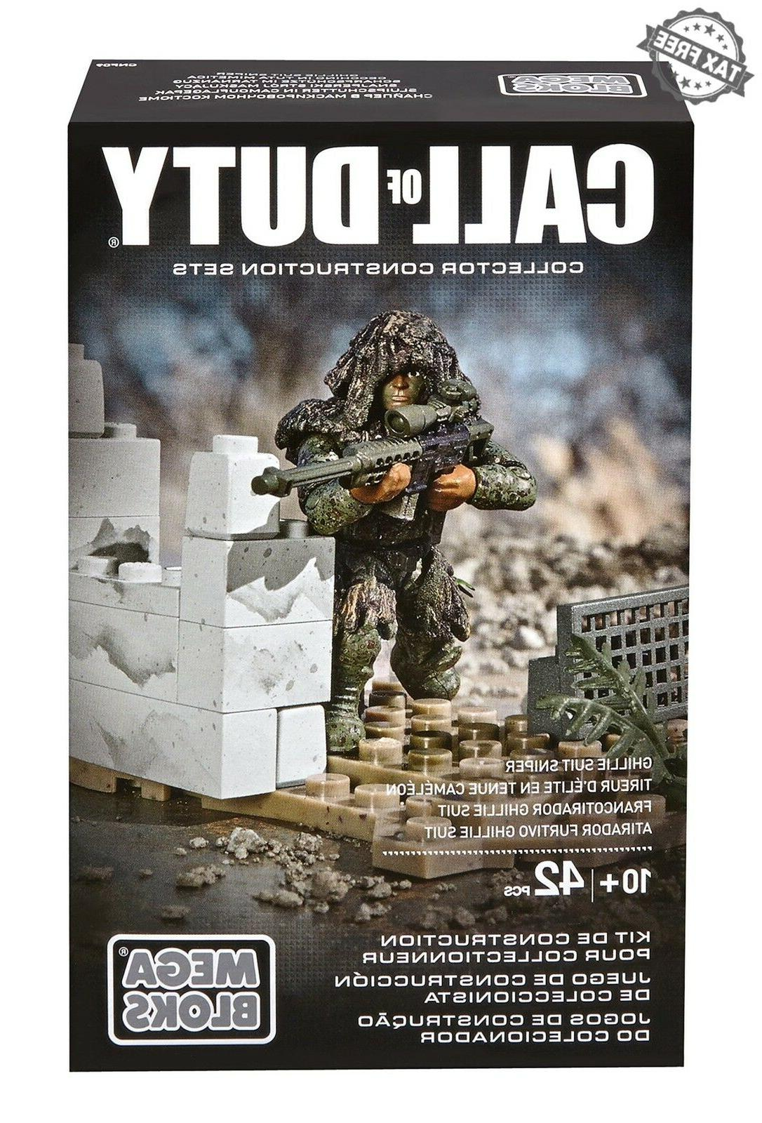 Mega of Duty Ghillie Sniper Rifle Action Building