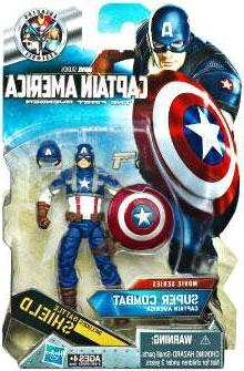Captain America Movie 4 Inch Series 2 Action Figure Super Co