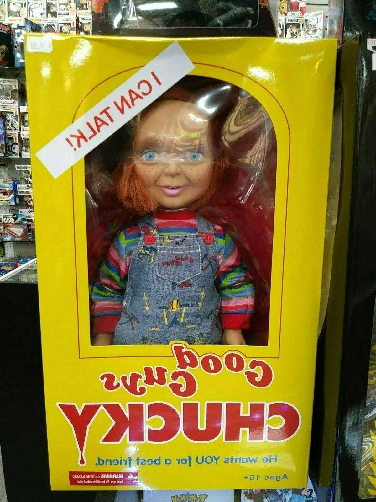 """Child/'s Play 15/"""" Good Guy Chucky Talking Action Figure"""