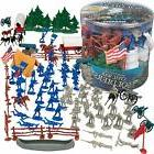 Civil War Army Men Action Figures Set SCS Direct Big Bucket
