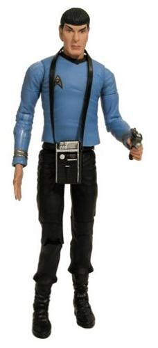"""Star Trek Classic 6"""" COMMANDER SPOCK Action Figure - ART ASY"""