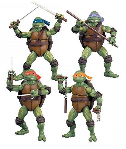 S295 4//1 pcs Teenage Mutant Ninja Turtles Movie TMNT Action figures Toys un 1