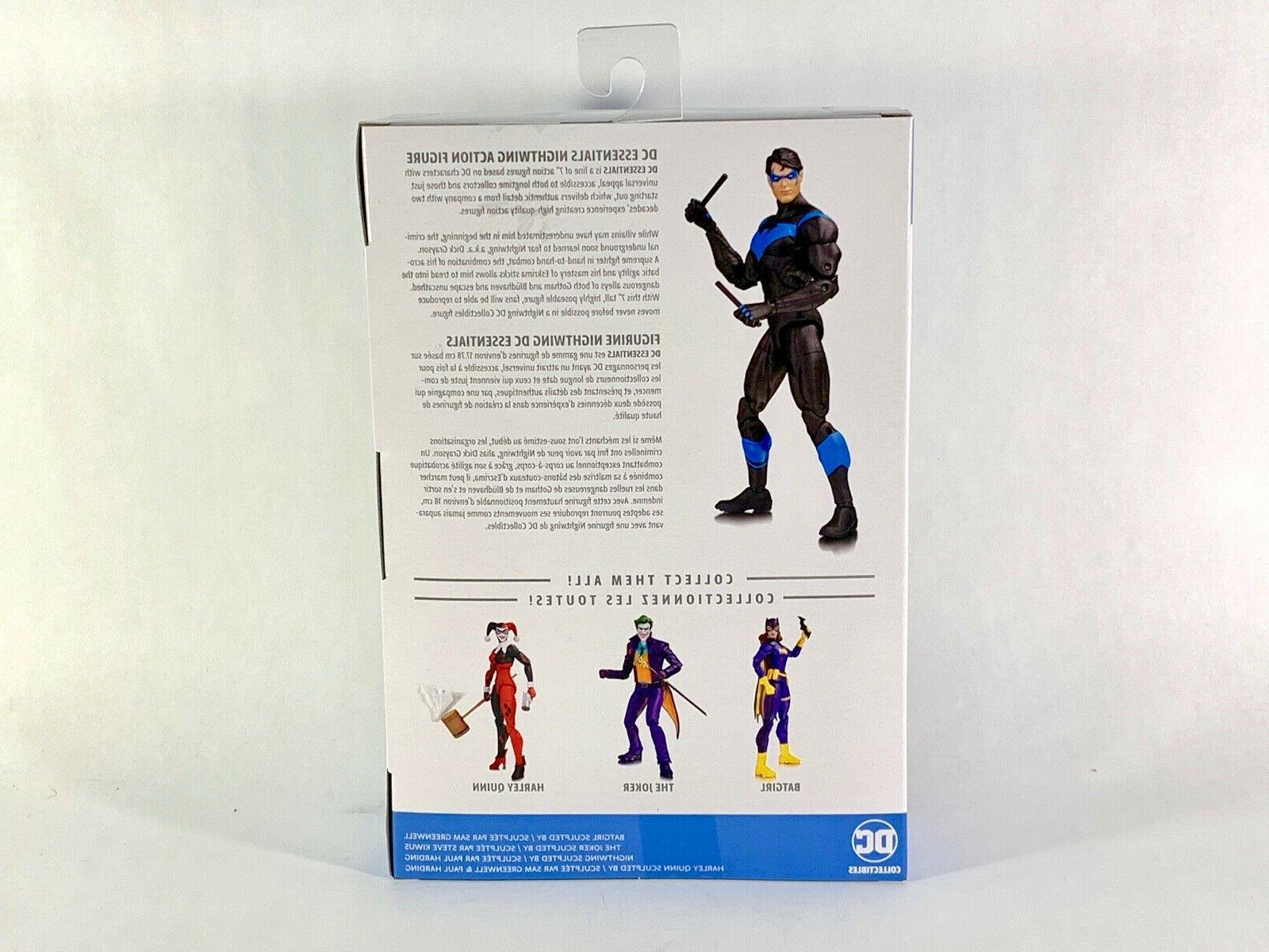 DC Collectibles DC ESSENTIALS NIGHTWING 6.75 inch action figure !
