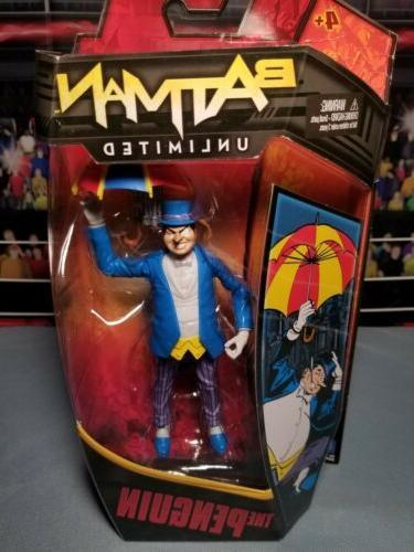 comics batman unlimited the penguin action figure