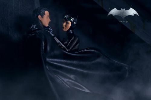 Custom mezco Batman cape short action figures