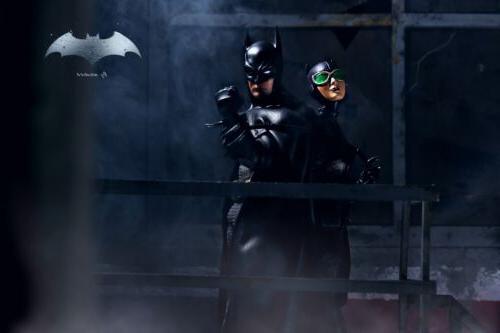 Custom mezco Batman action