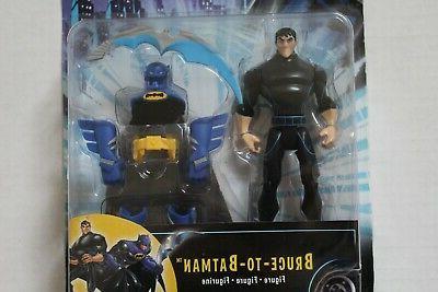 DC Animated Batman Figure Bruce-To-Batman