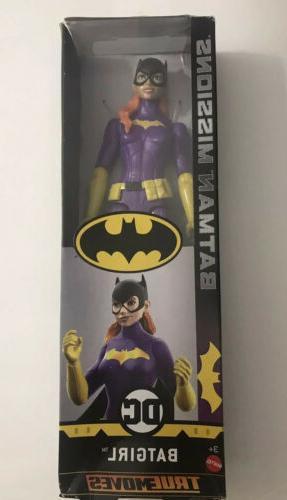 "DC BATGIRL True Moves 12"" Inch Scale Action Figure Batman Mi"