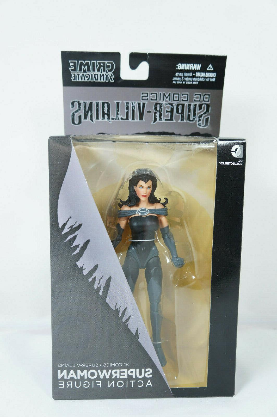 dc collectibles comics super villains superwoman action