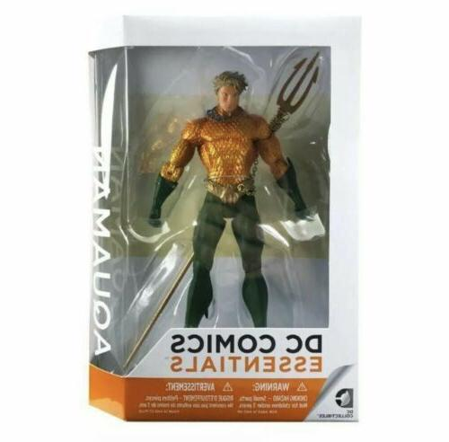 dc collectibles essentials aquaman action figure nib