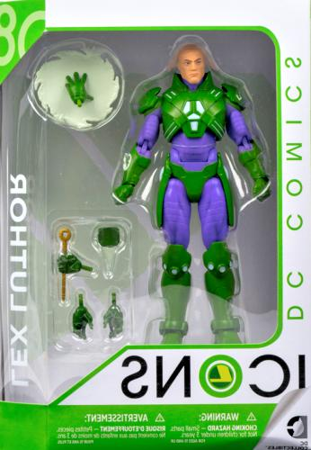 dc collectibles icons lex luthor forever evil