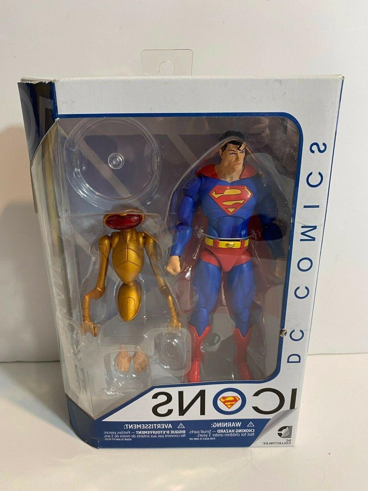 dc comics collectibles icons 2017 rebirth superman