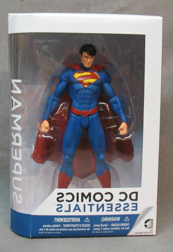 dc comics essentials superman action figure