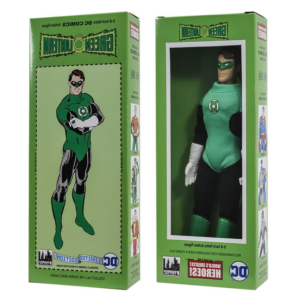 dc comics mego style boxed 8 inch