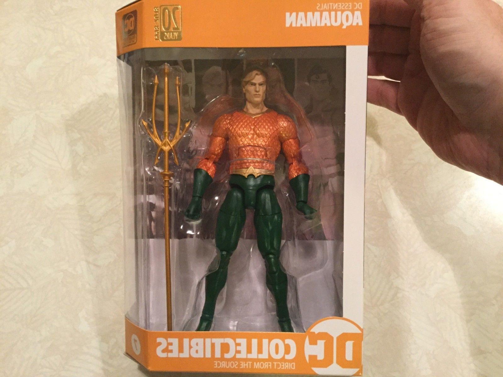 DC Collectibles DC Essentials Aquaman Action Figure NEW