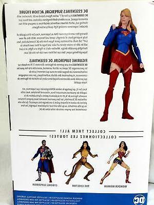 DC Essentials Supergirl Comics Action Figure