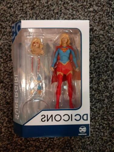 dc icons supergirl rebirth renaissance action figure
