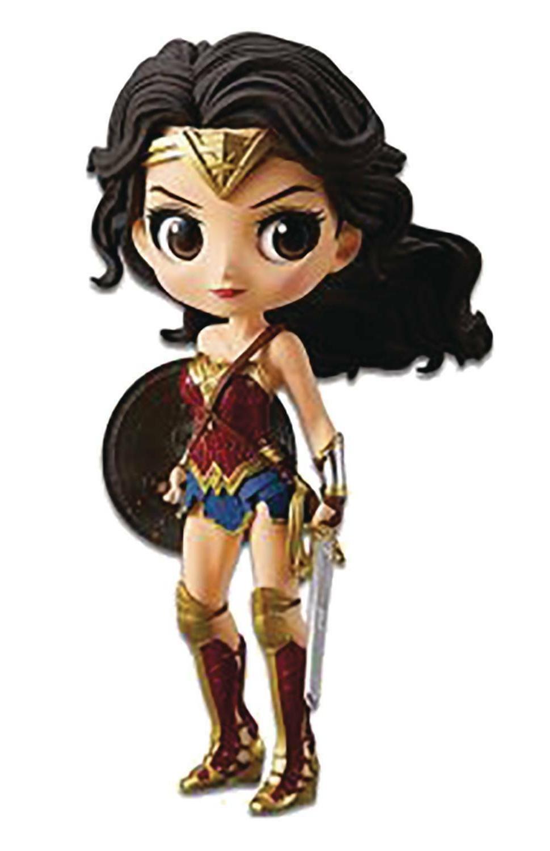 BANPRESTO DC Comics Q Posket Wonder Woman 5.5 Inch Action Fi