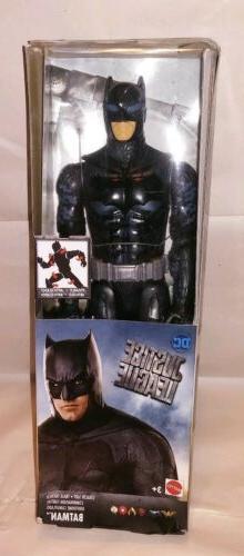 Mattel DC Justice League Stealth Suit Batman Action Figure