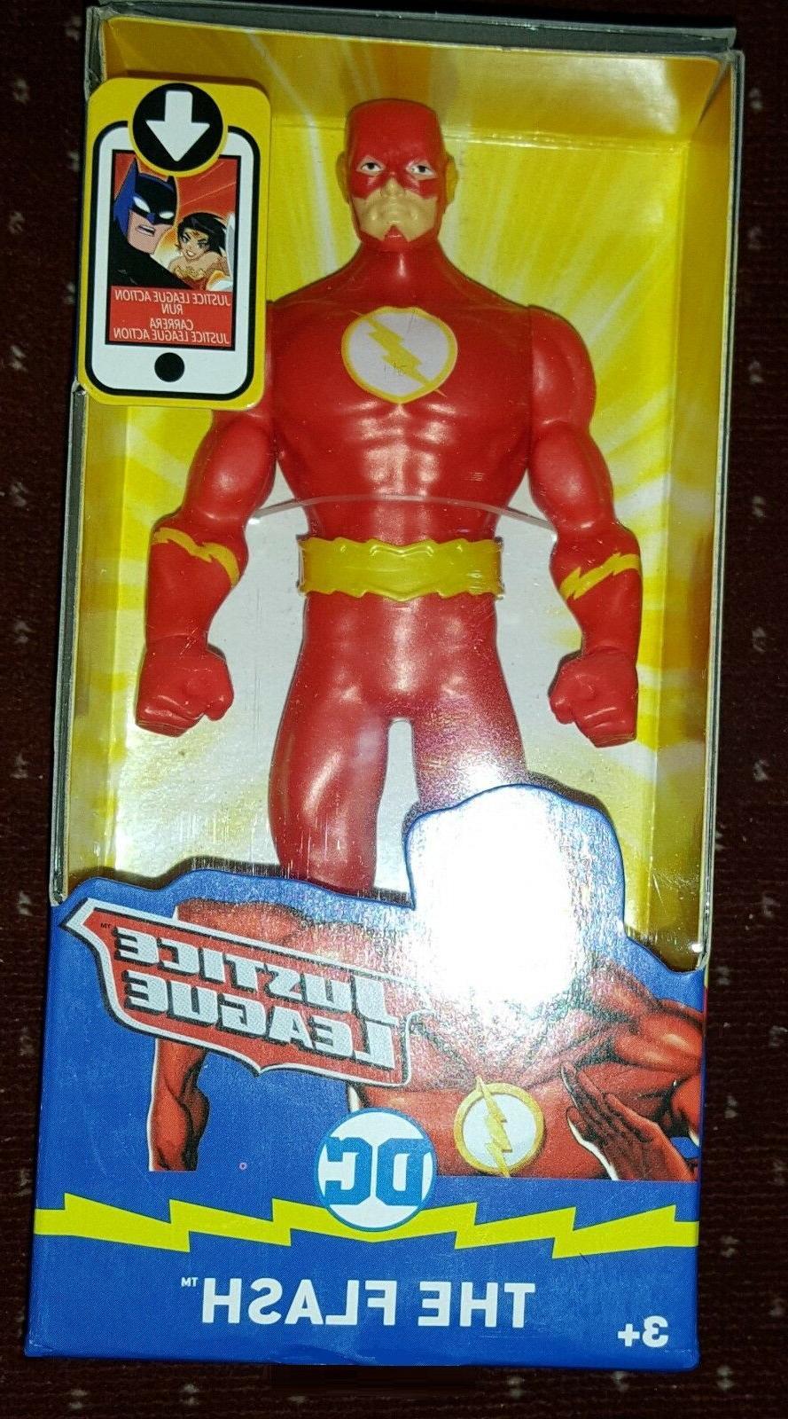 """Mattel DC Kids Justice League 6"""" The Flash RARE Action Figur"""