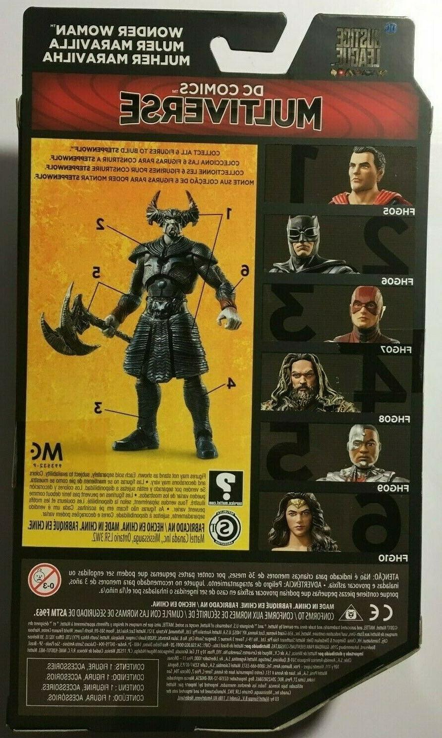 DC Multiverse Justice Batman Action Figure New Steppenwolf