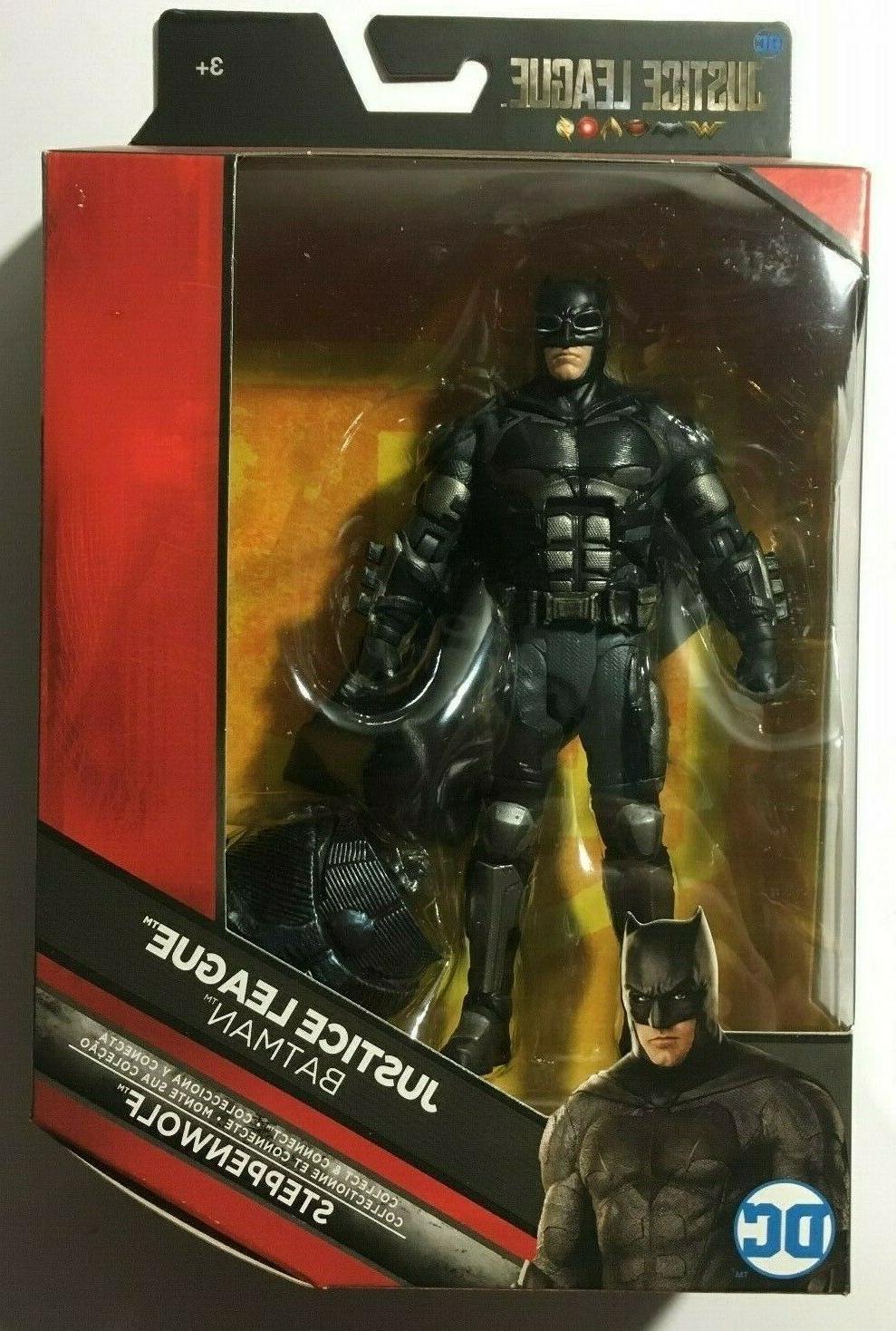 dc multiverse justice league batman 6 action