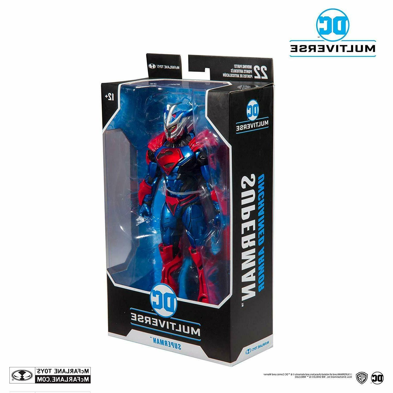 dc multiverse superman unchained armor action figure