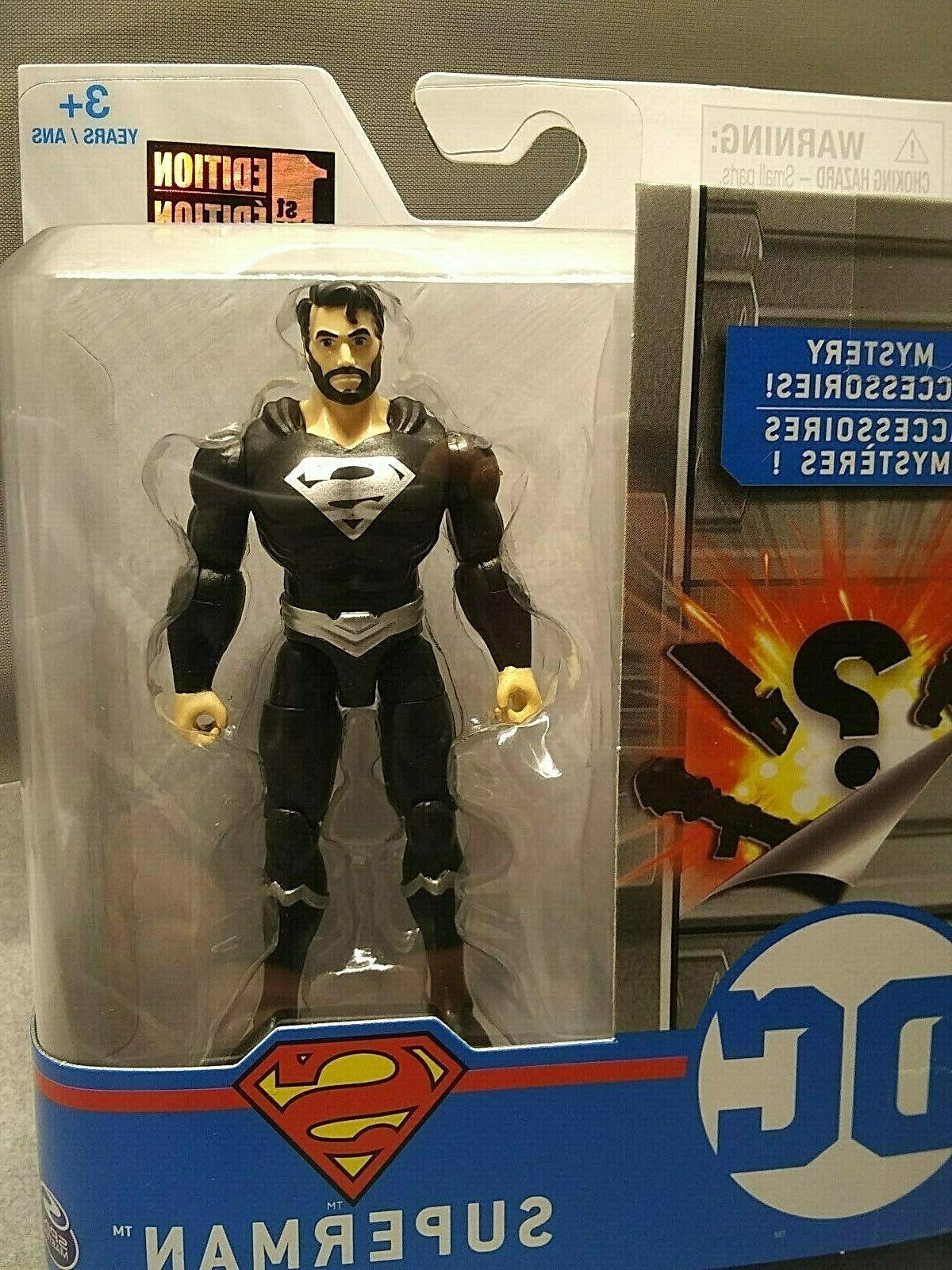 DC Black Suit & Beard 1st 3 Accessories