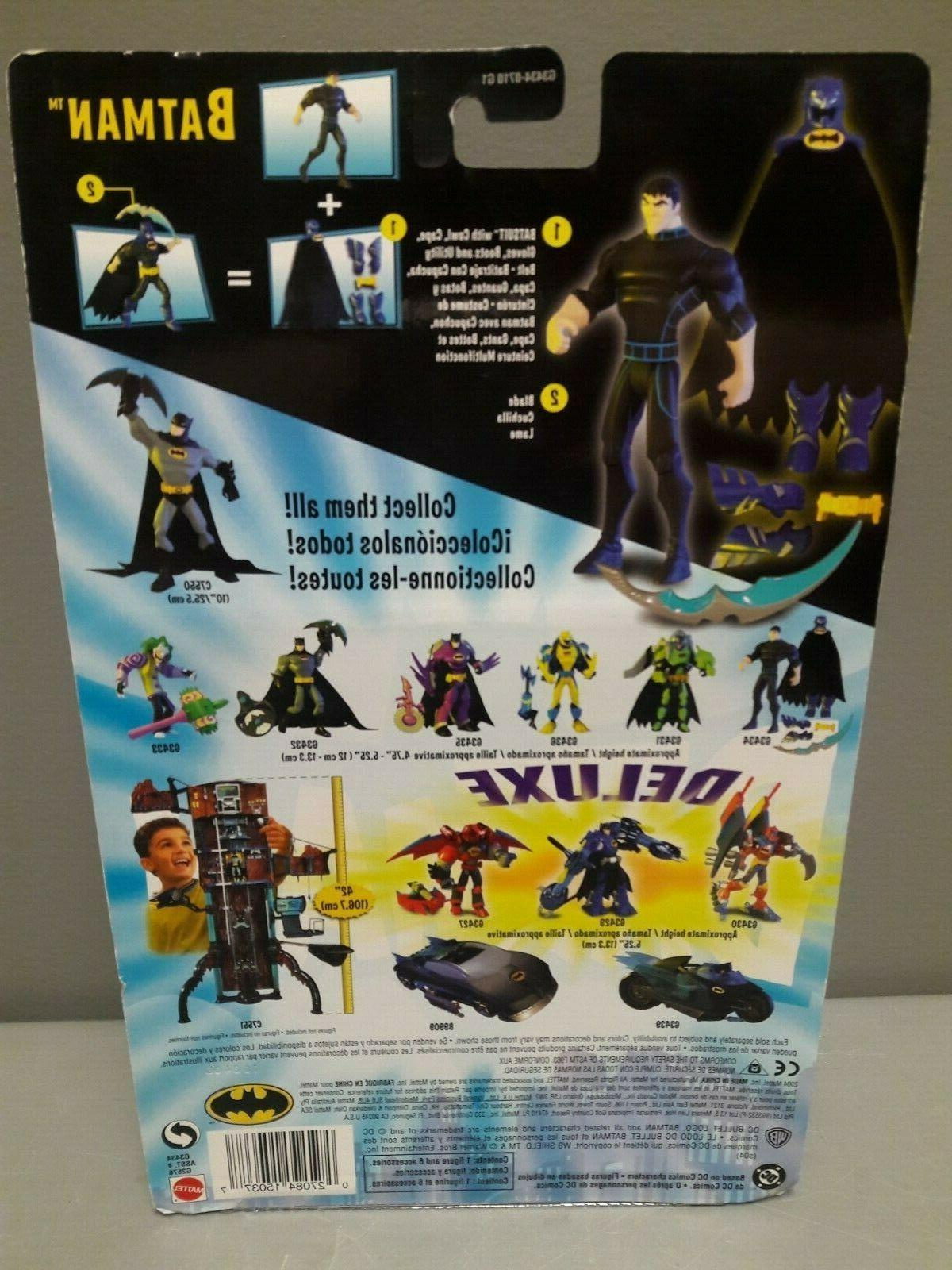 DC BATMAN SERIES NEW MATTEL