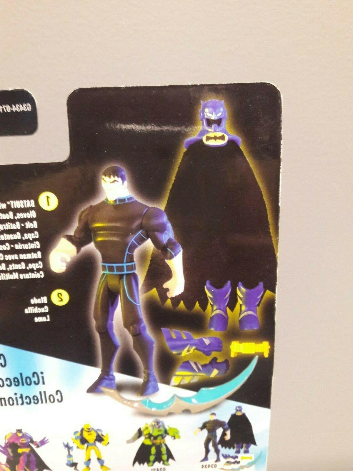 DC BATMAN SERIES BRUCE-TO-BATMAN ACTION FIGURE NEW