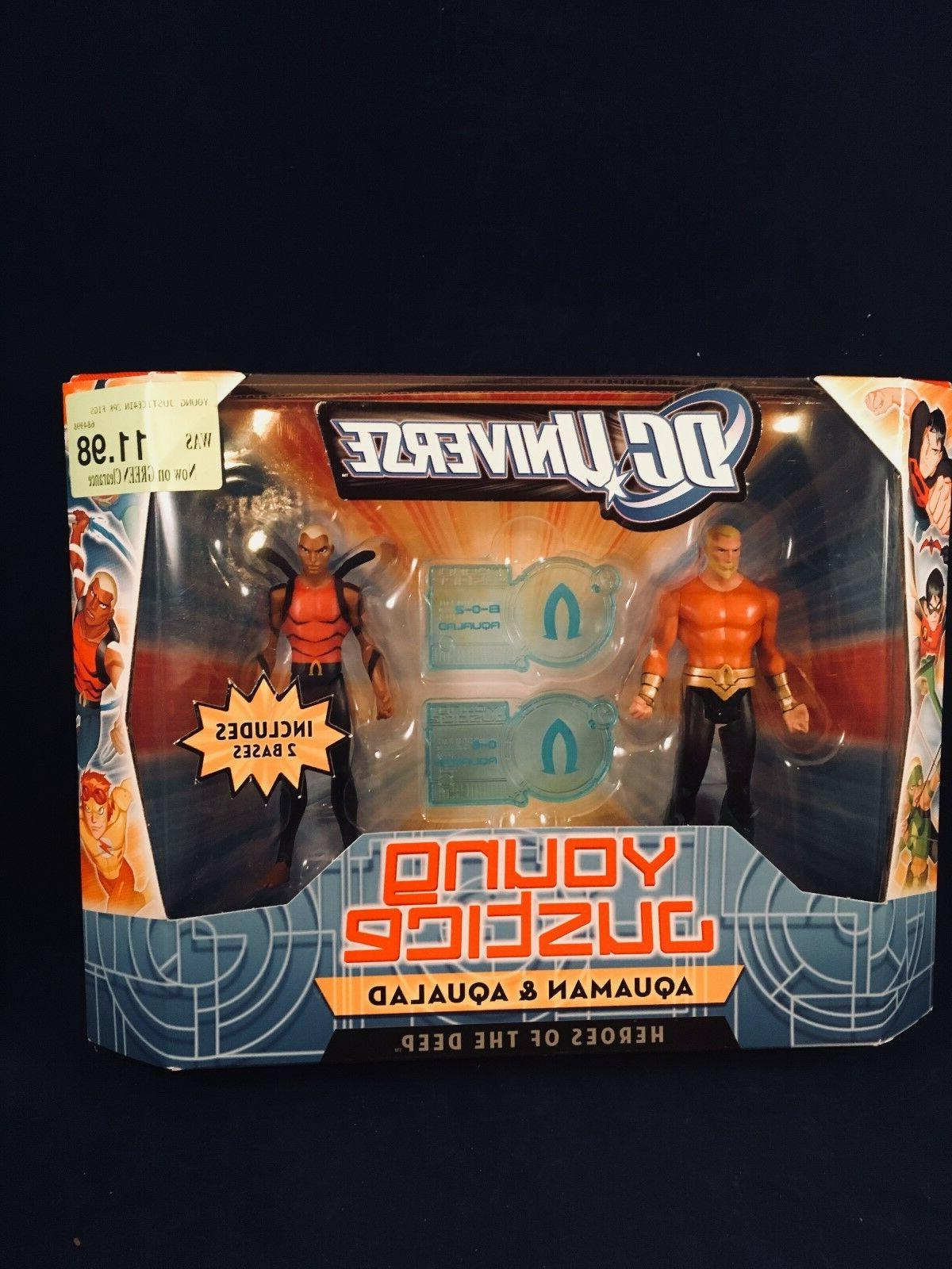 DC Universe Young Justice Aquaman and Aqualad Action Figures