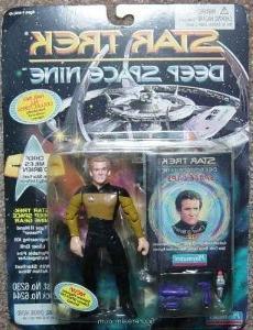 "Star Trek Deep Space Nine Chief Miles O'Brien 4.5"" Action Fi"