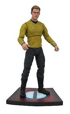 Diamond Select Toys Star Trek Movie Captain Kirk Action Figu