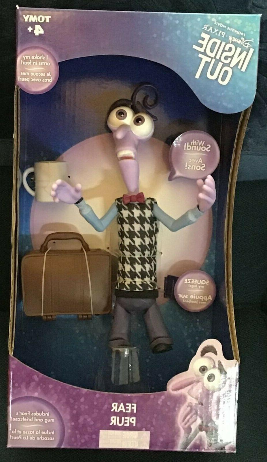 disney pixar inside out fear action figure