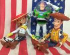 Disney Toy Story lot of 3 TALKING Woody Jessie Buzz Lightyea
