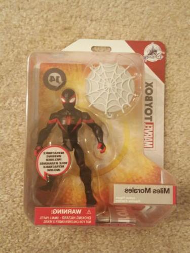 disney toybox miles morales spider man in