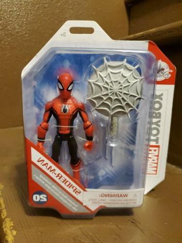 disney toybox new spider man far from