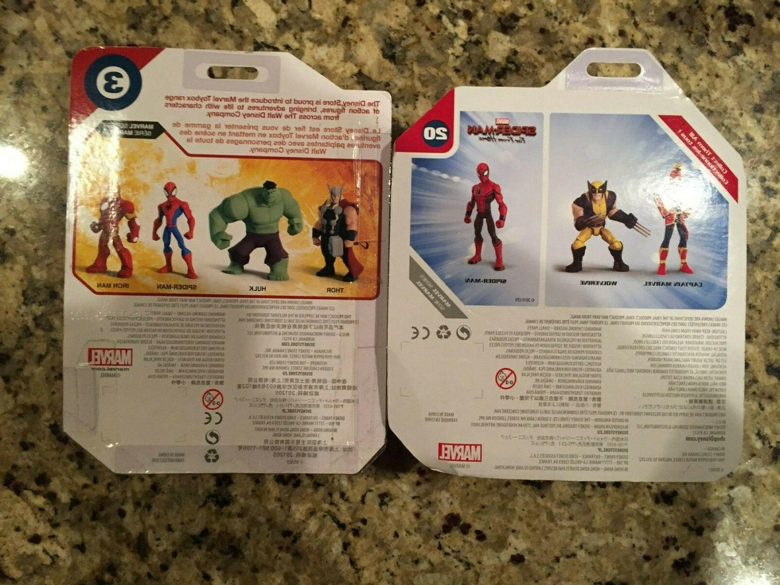 Disney Marvel Toybox Red Blue Red Suit Action