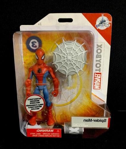 disney toybox spiderman action figure disney store