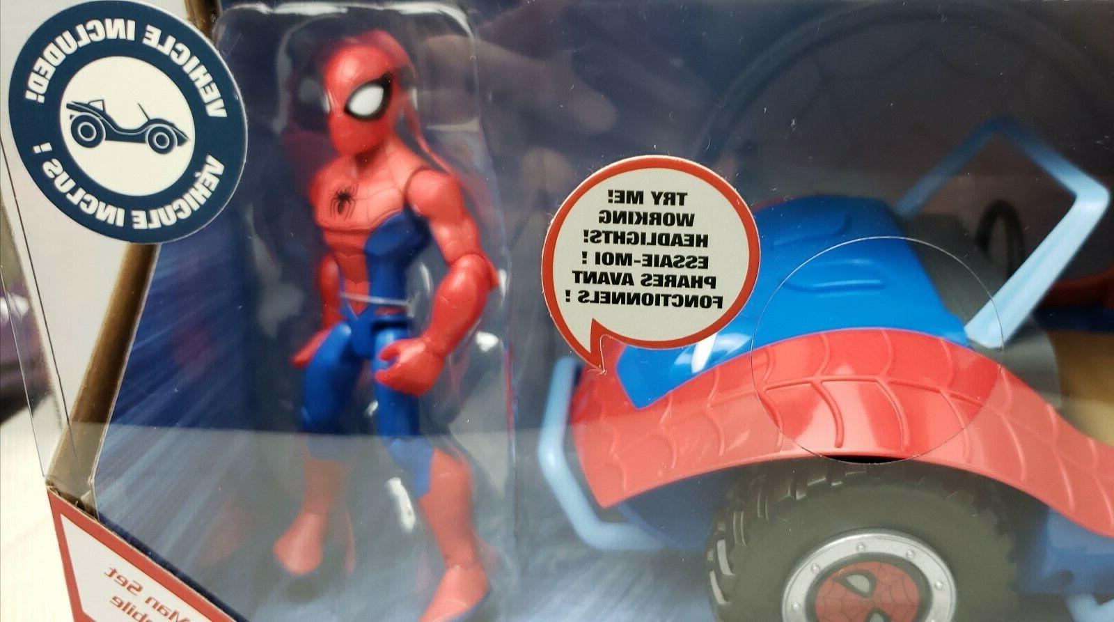 Disney Toybox Spider-Mobil & Man Set