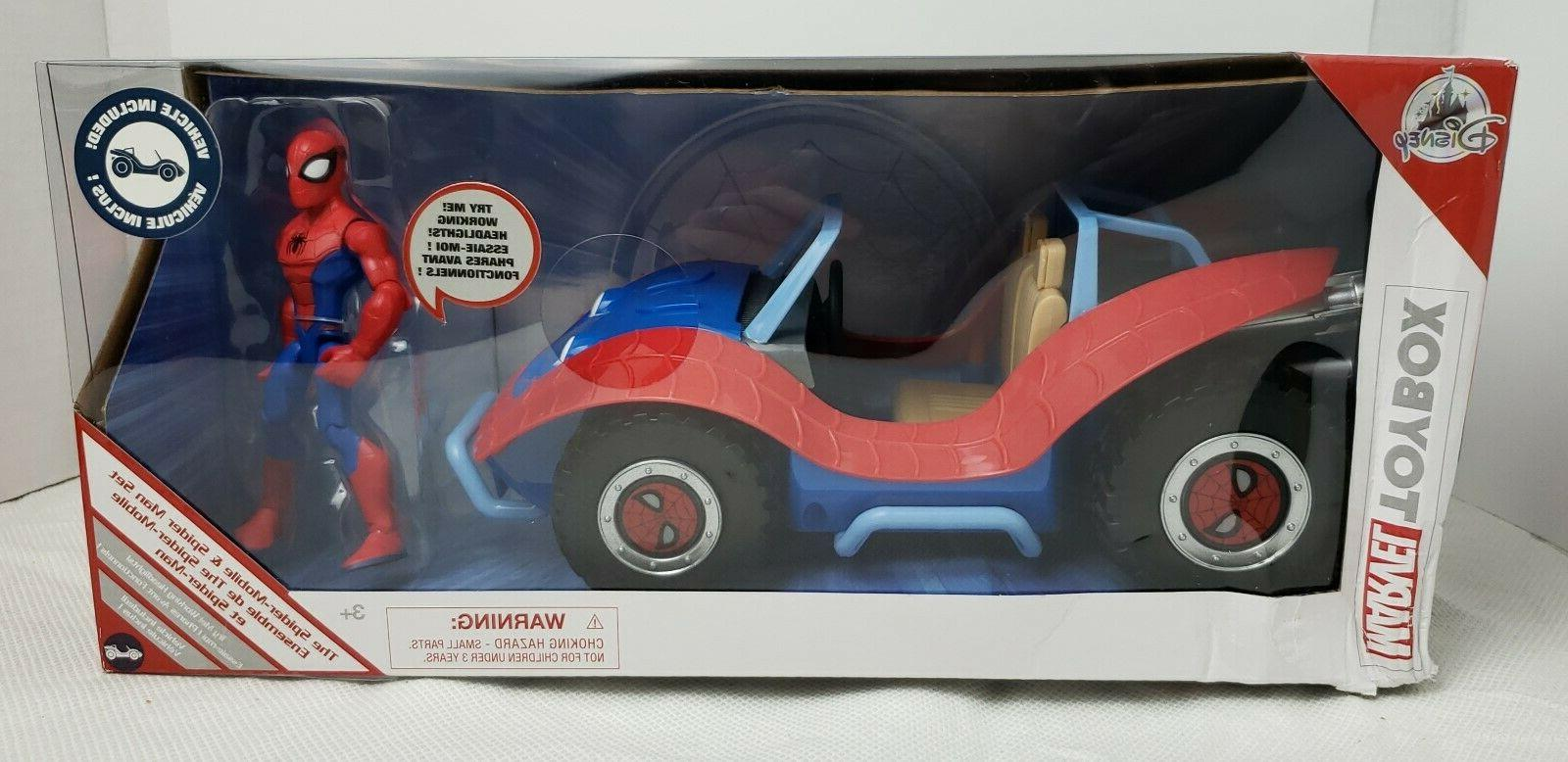 disney toybox the spider mobil and spider
