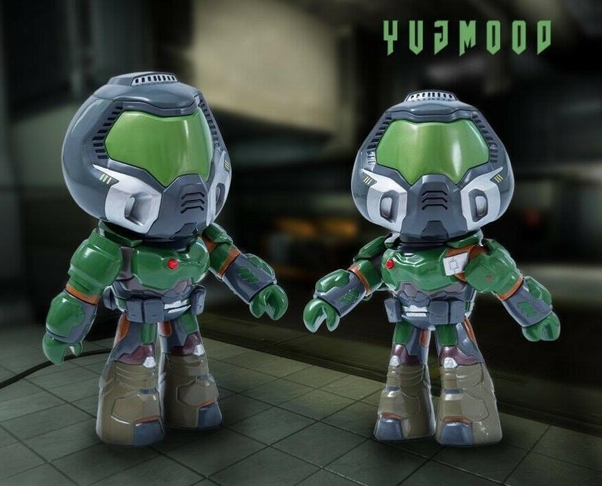 Doom Doomguy Action Figure PVC Collectibles Heads