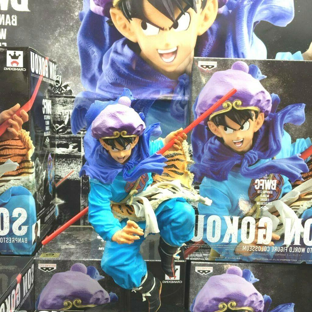 Banpresto World Action Goku