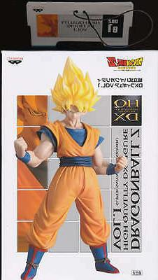 Banpresto Dragonball Z HQ DX  Super Saiyan Son Goku Figure
