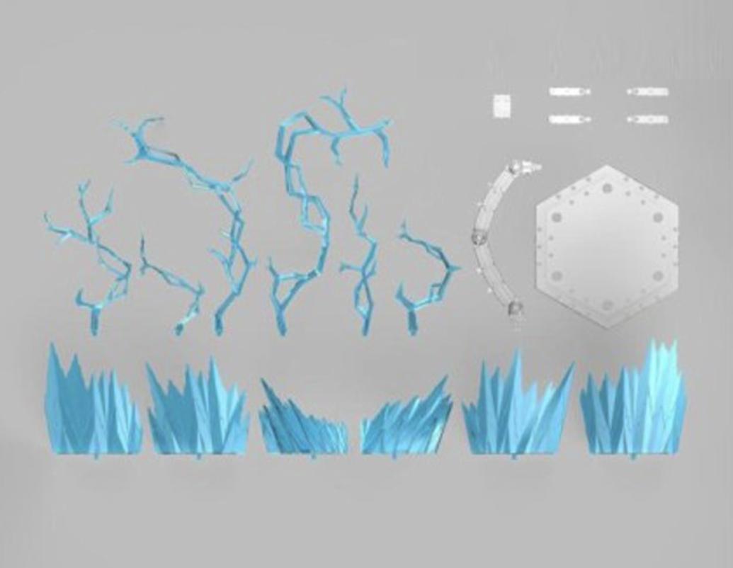☀️ Effect Blue Figure